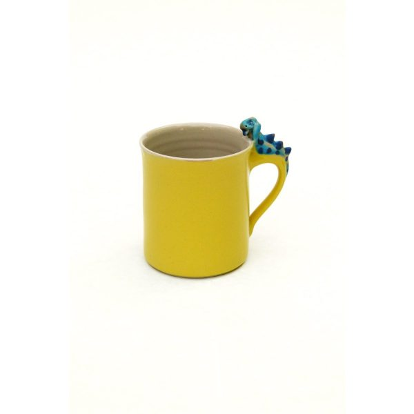 Drachentasse zylindrisch gelb Größe: L