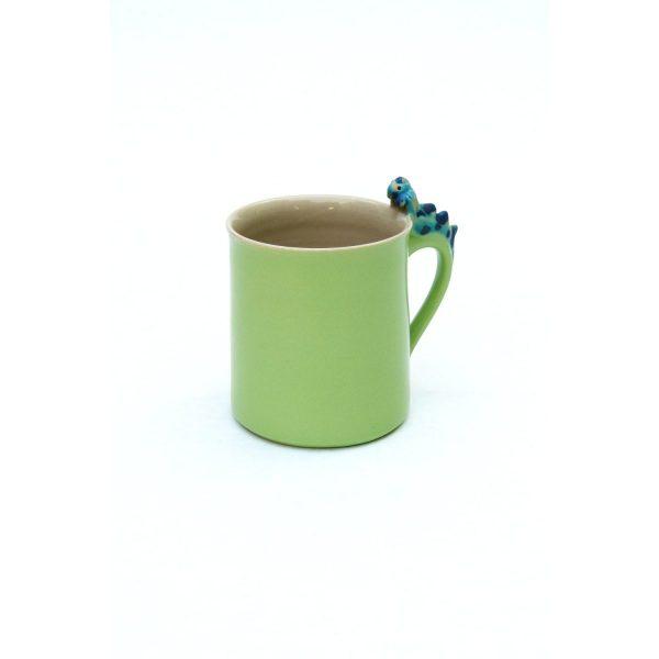 Drachentasse zylindrisch grün Größe: L