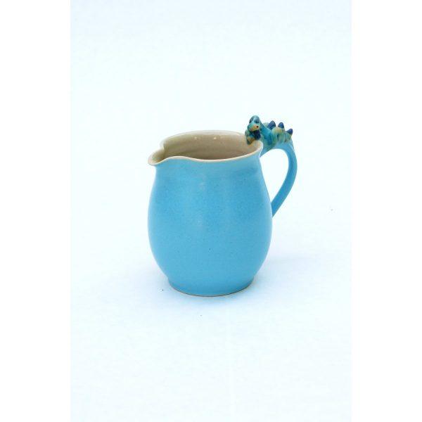 Drachenkrug blau